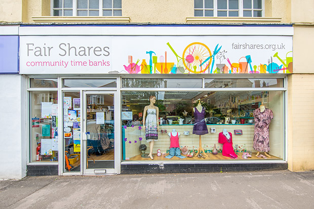 Fair Shares Charity Shop front