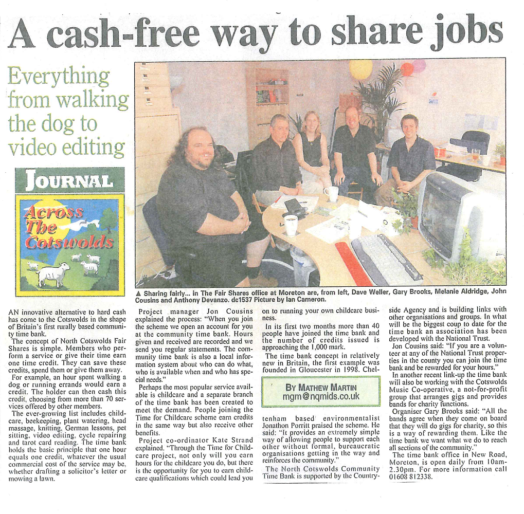 press art cotswolds funding