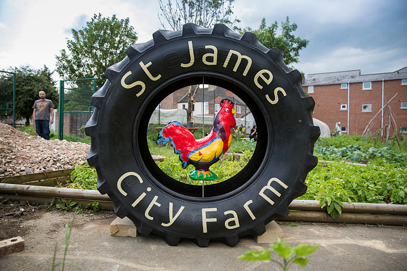 City Farm Tyre